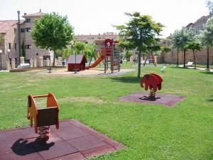 Columpios Parque Santa Clara de Soria