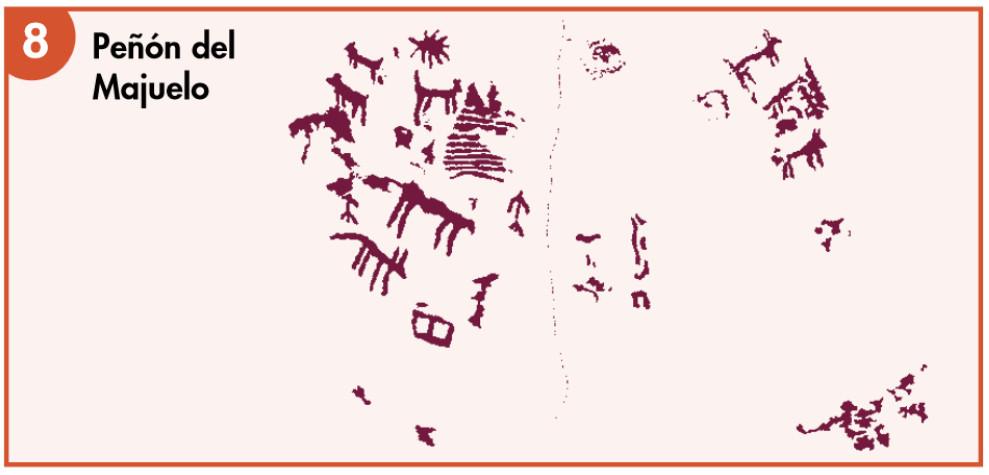 Valonsadero Pinturas Rupestres 8 Peñón del Majuelo