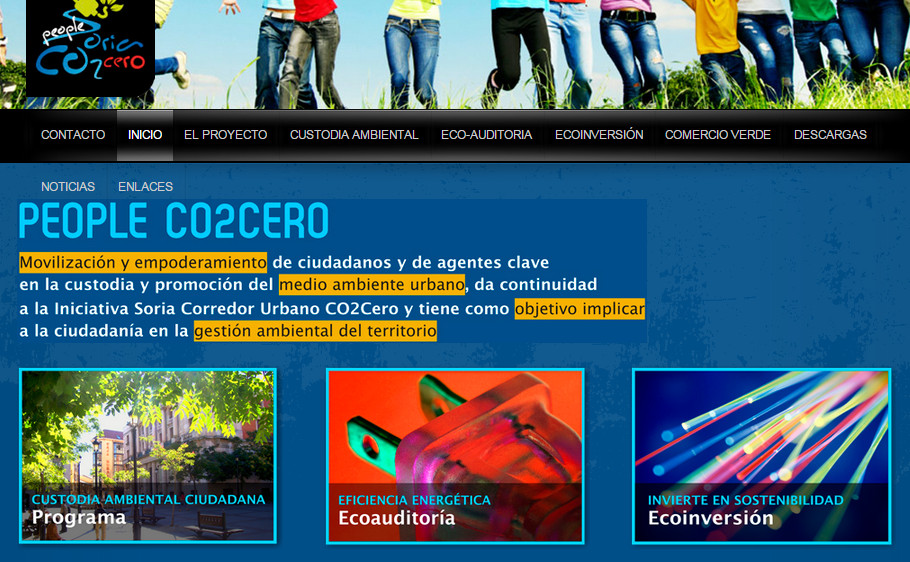 Web People Co2Cero Soria