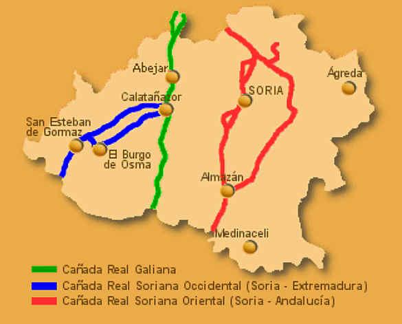 Cañadas Reales en Soria-Mancomunidad 150 Pueblos
