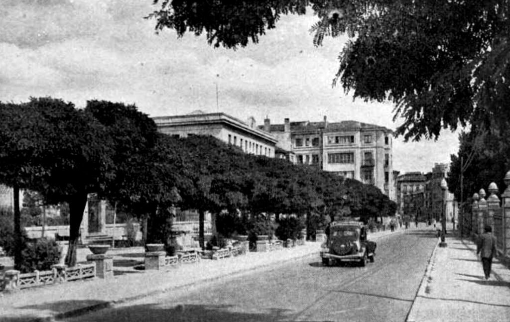 El Espolón de Soria en 1958