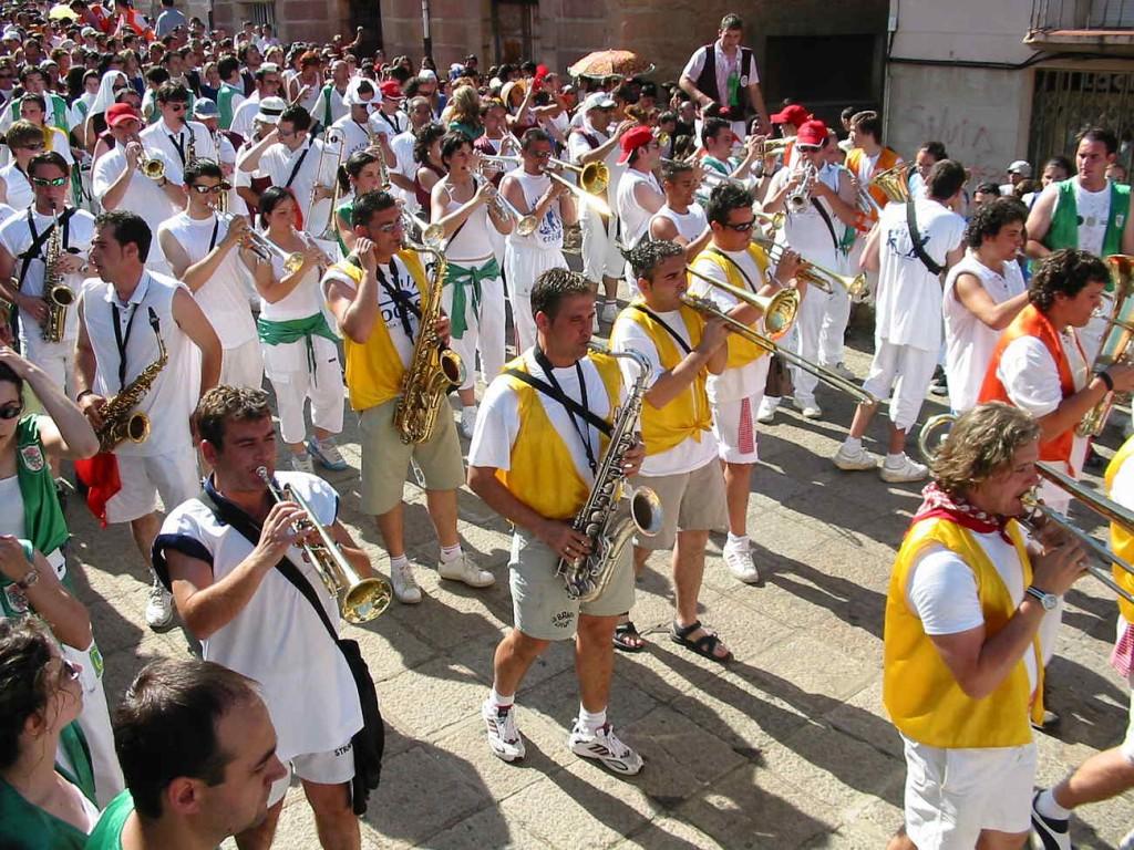 Inicio Bajada a las Bailas en San Juan Soria