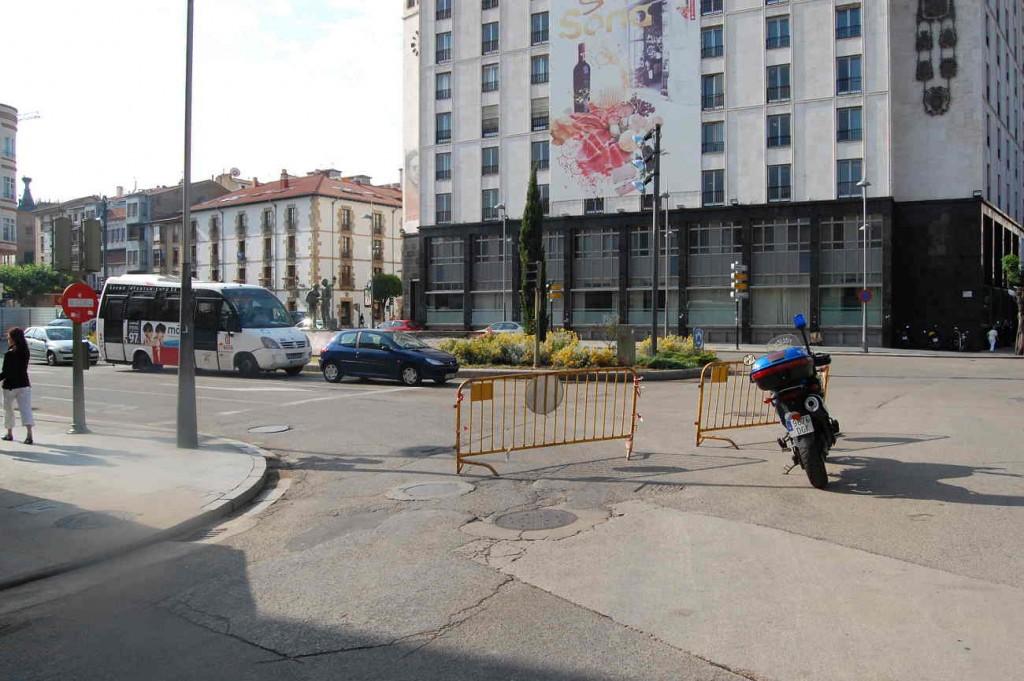 Plaza Mariano Granados de Soria junio de 2013