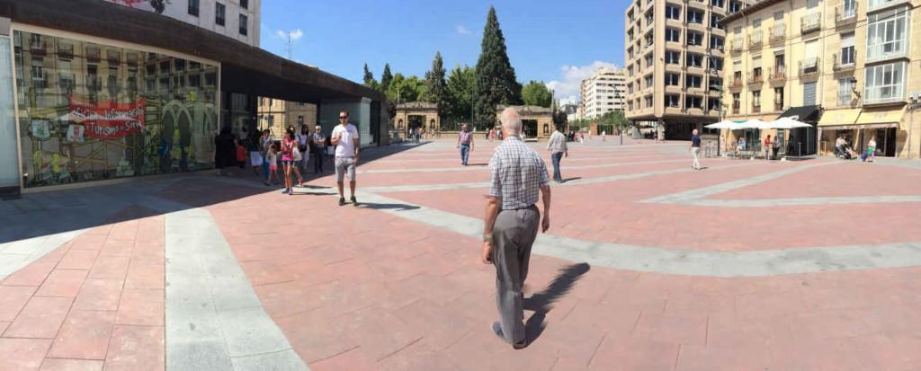 Plaza de Mariano Granados peatonal en Soria