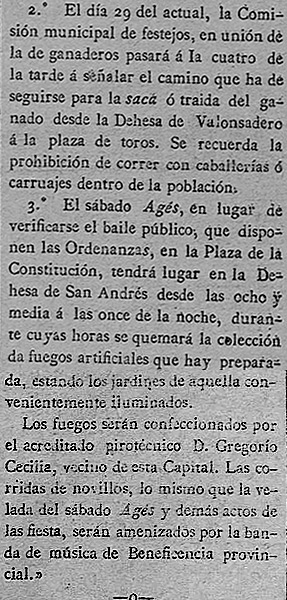 "Datos sanjuaneros en ""Noticiero de Soria"", 22 junio de 1892"