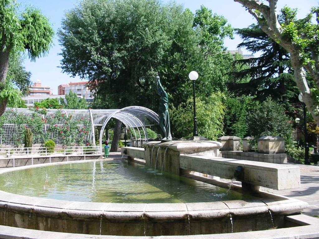 fuente de la Dama en Dehesa de Soria