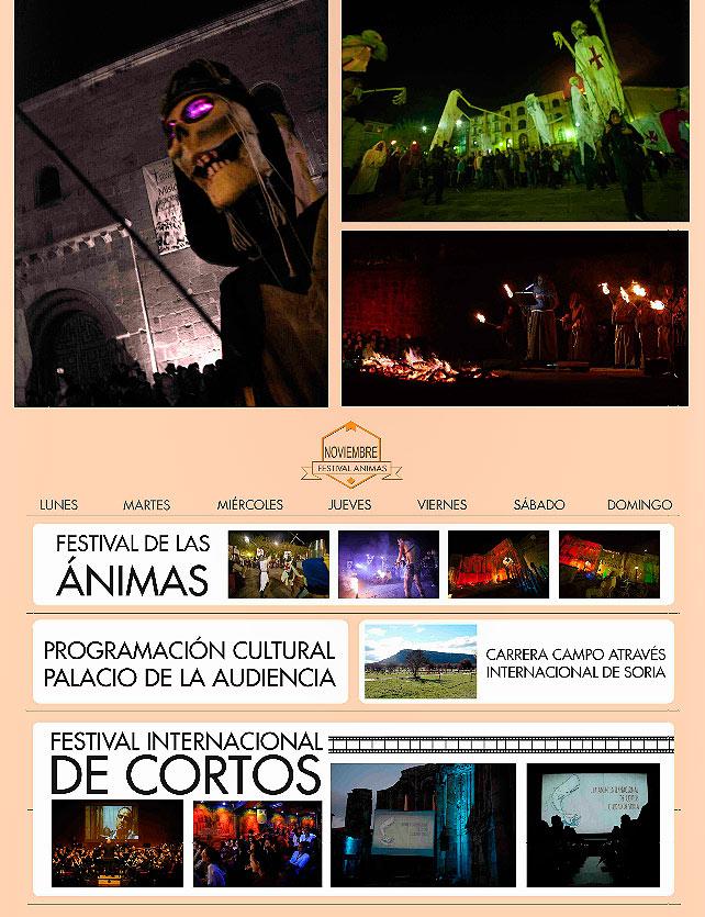 Eventos de Soria en noviembre. Elige Soria