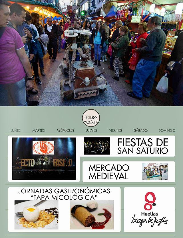 Eventos de Soria en octubre. Elige Soria