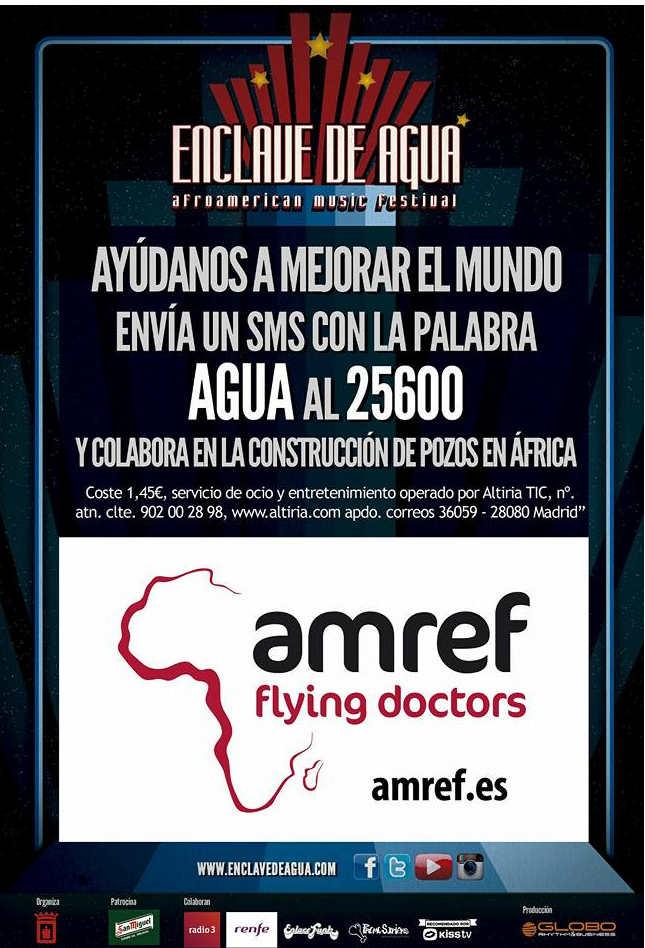 Enclave de Agua con AMREF