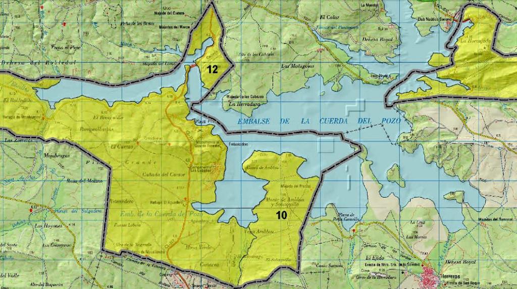 Pantano Cuerda del Pozo y Reserva Biosfera Soria