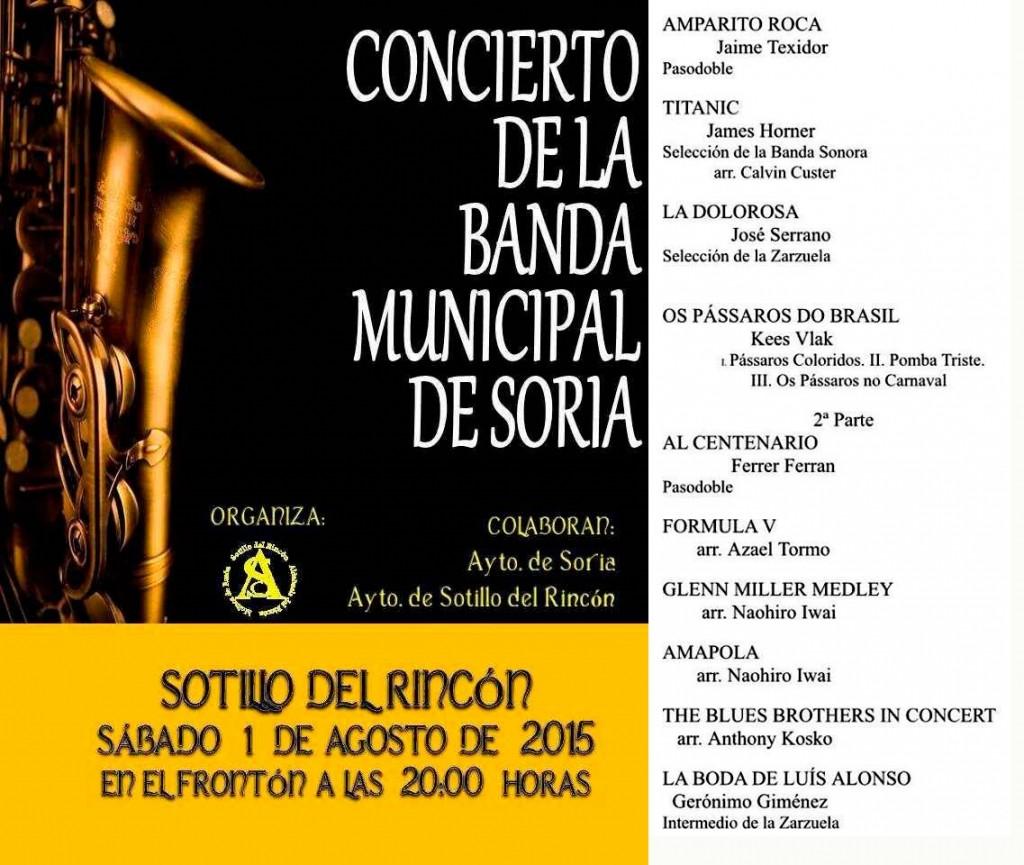 Cartel-Banda-Municipal-de-Musica-de-Soria-en-Sotillo-del-Rincon