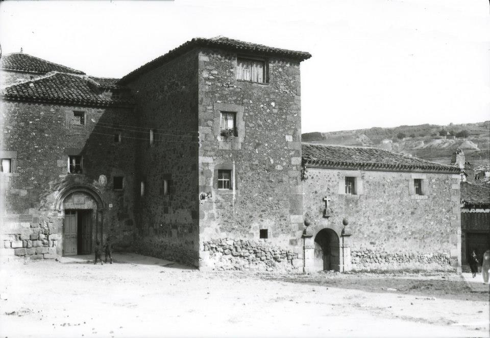 Convento del Carmen en Soria Foto AHPSo