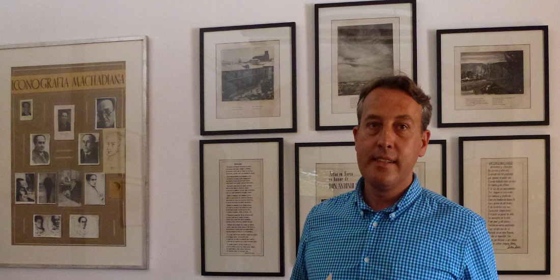 Martin Ruiz Calvente en Aula Antonio Machado en Soria