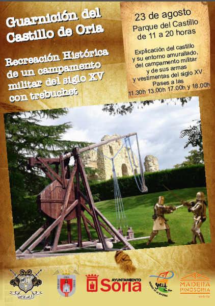 Oria Dauria recreacion en castillo de Soria