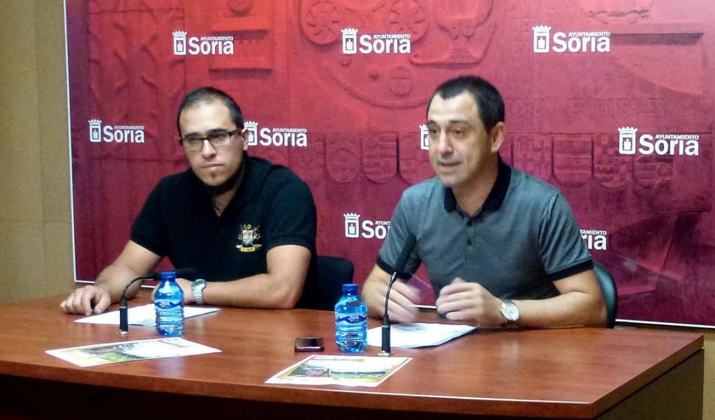 Oria Dauria y concejal de turismo del Ayuntamiento de Soria