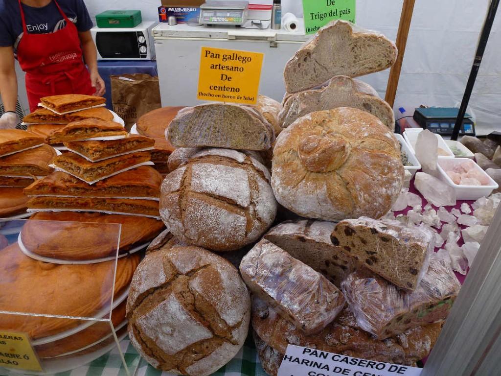 X Mercado de Viandas de Soria - pan gallego