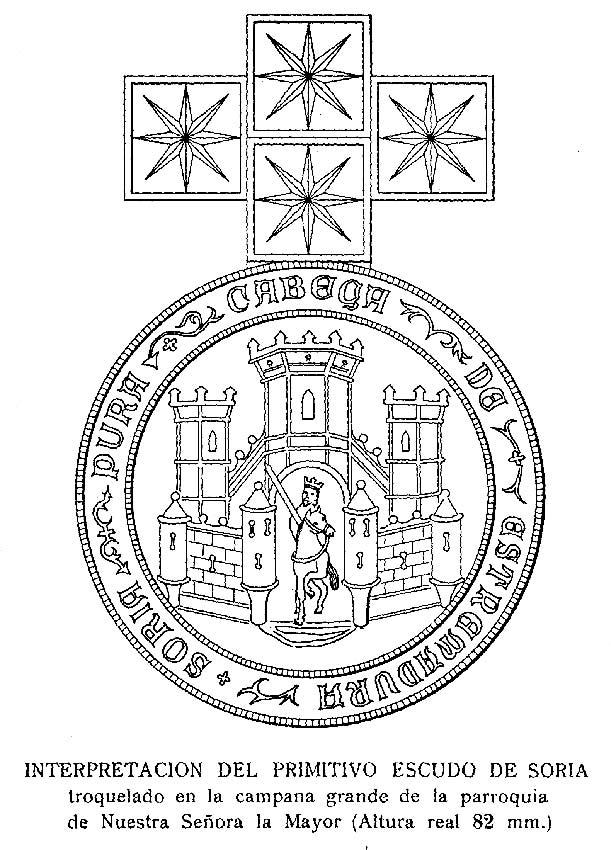 Sello-conceil-de-Soria-hacia-1525