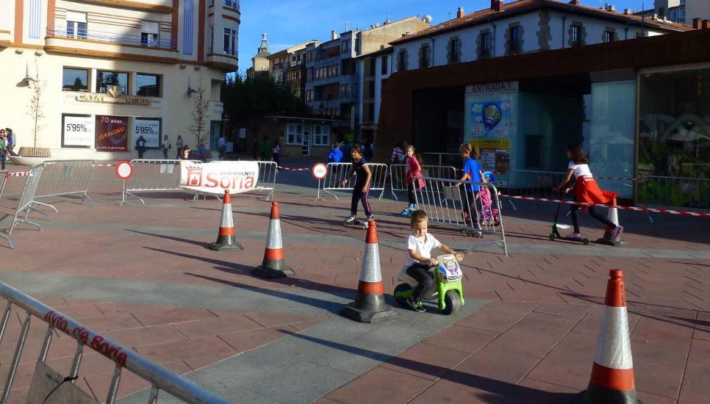 Semana de Movilidad Sostenible en Soria 2015