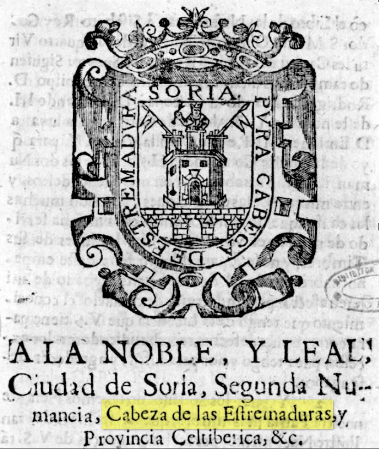 Soria-Cabeza-de-Estremadura-libro-de-Tutor-y-Malo 1683