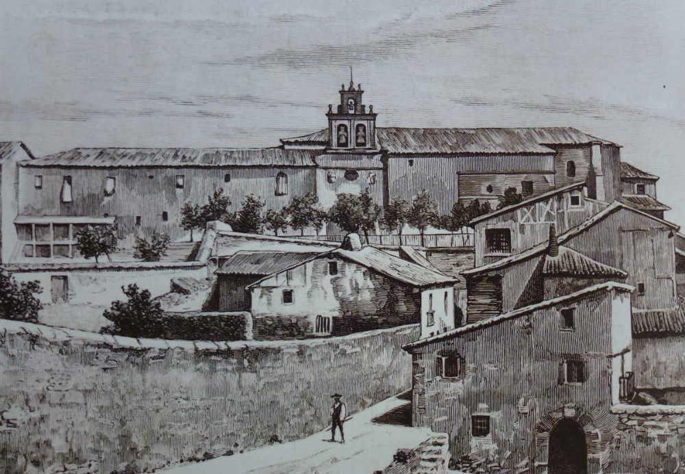 Soria antigua zona de la Merced c 1883