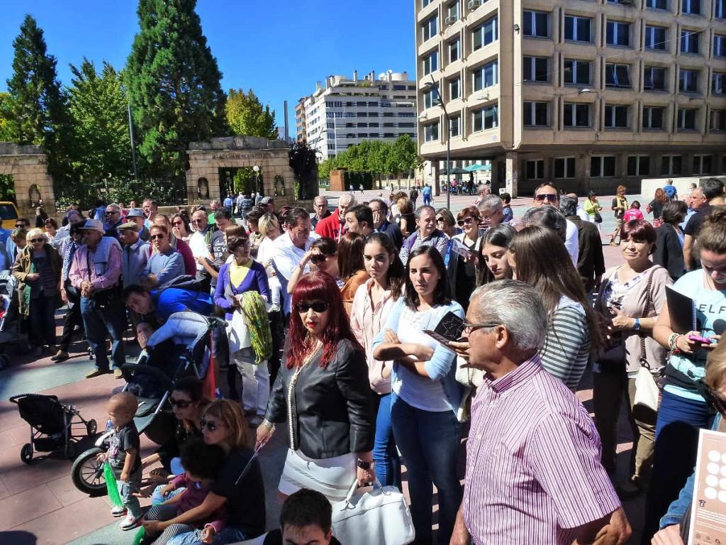publico Maraton Musical Soriano en Plaza Mariano Granados 2105