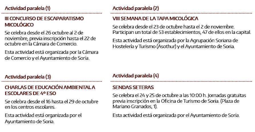 Mercasetas 2015 actividades paralelas en Soria