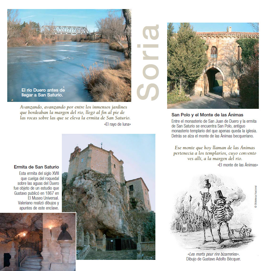 Soria ciudad y los Bécquer -Proynerso