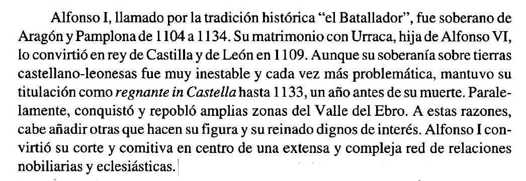 Alfonso I el Batallador en Jose Angel Lema Pueyo