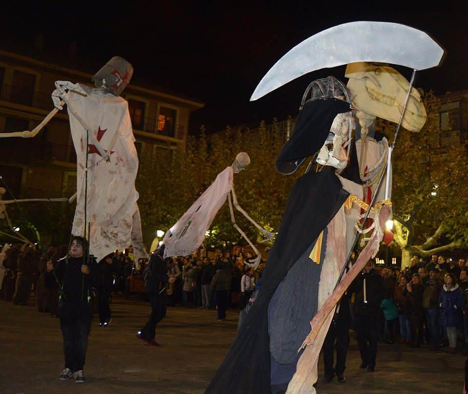 Animas de Templarios en Soria Plaza Mayor