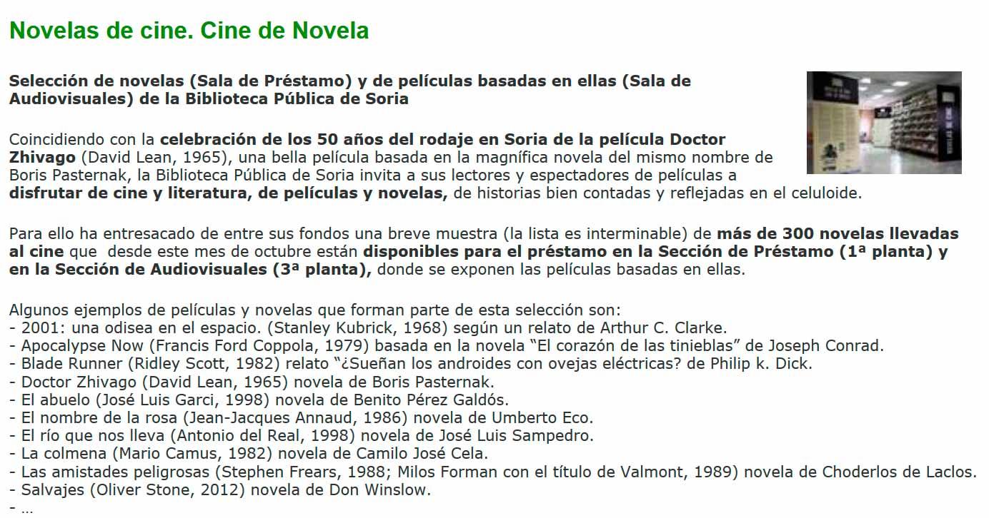 Novelas-de-cine-y-cine-de-novela-en-Soria