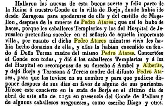 Pedro Atares -Cronica del Principado de Cataluña _Jeronimo Pujades vol 8