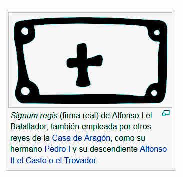 Sello de Alfonso I el Batallador -Wikipedia