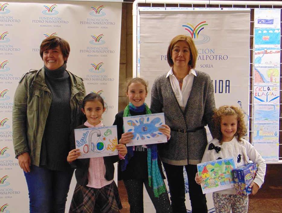 agua es vida por Fundacion Navalpotro en Soria