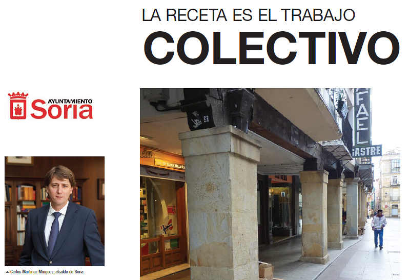 Ayuntamiento de Soria ejemplo de reciclaje 2015
