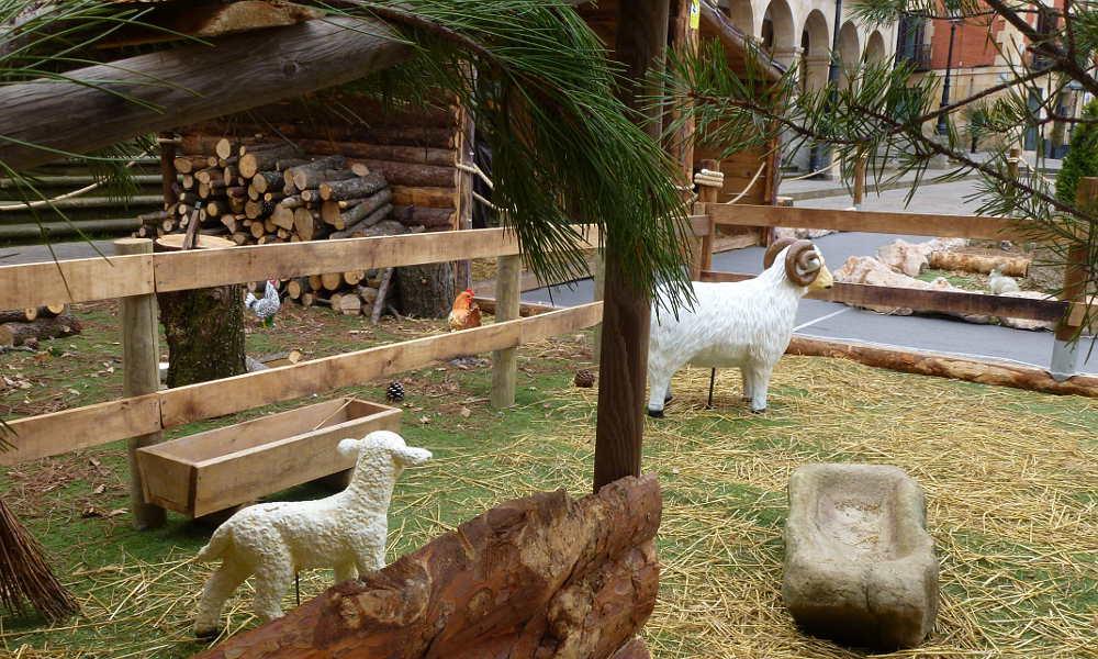 Belen Ayuntamiento de Soria 2005 ovejas