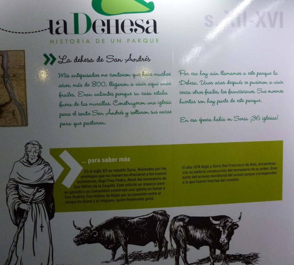 como nacio el Parque de la Dehesa de Soria