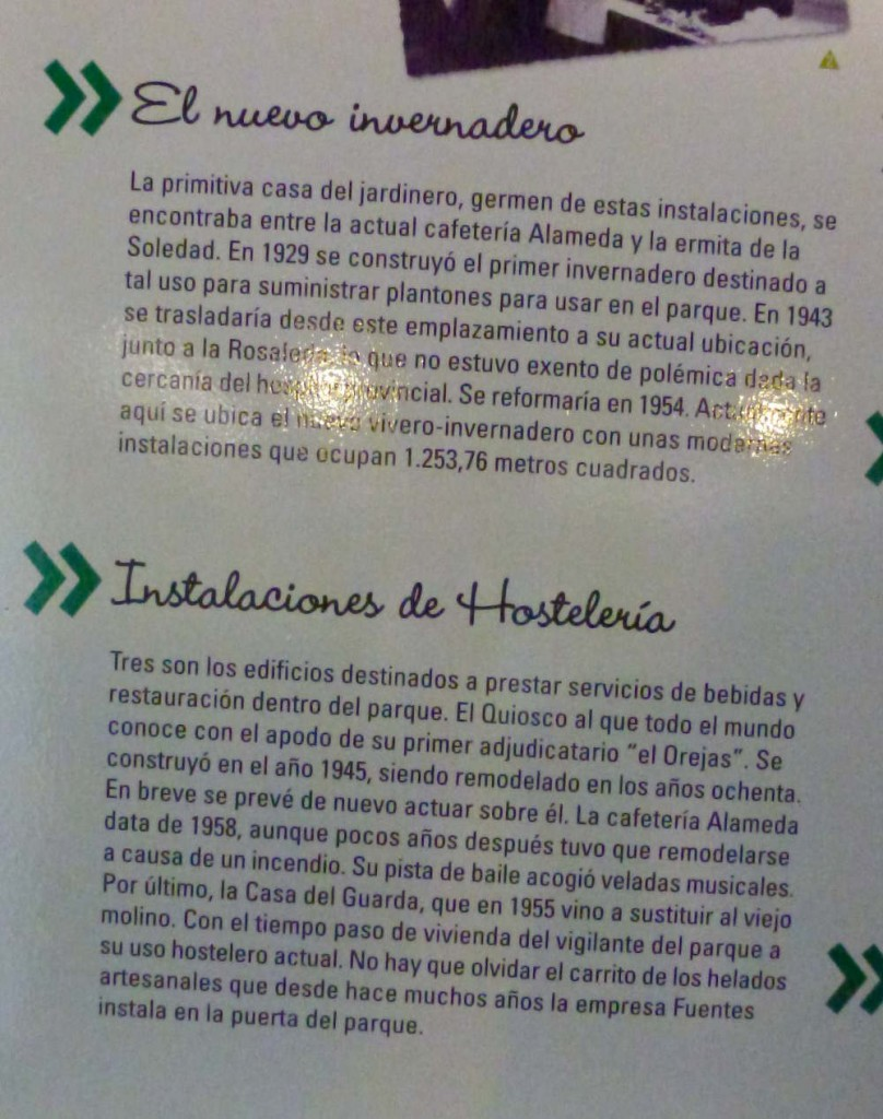 invernadero y hosteleria en el Parque Dehesa de Soria