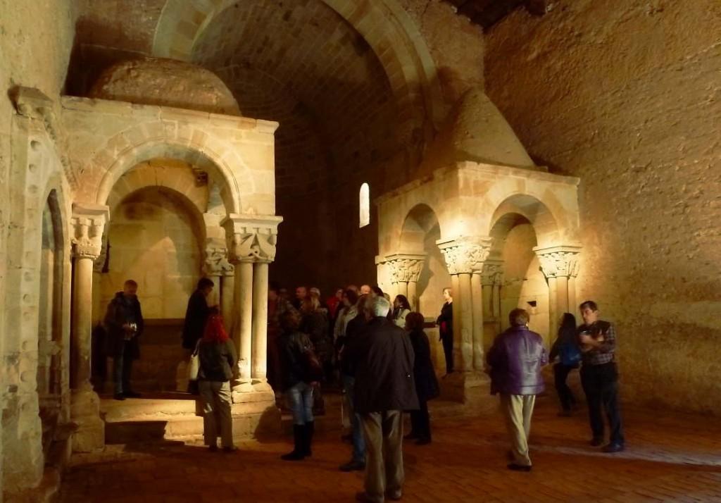 templetes de San Juan de Duero en Soria