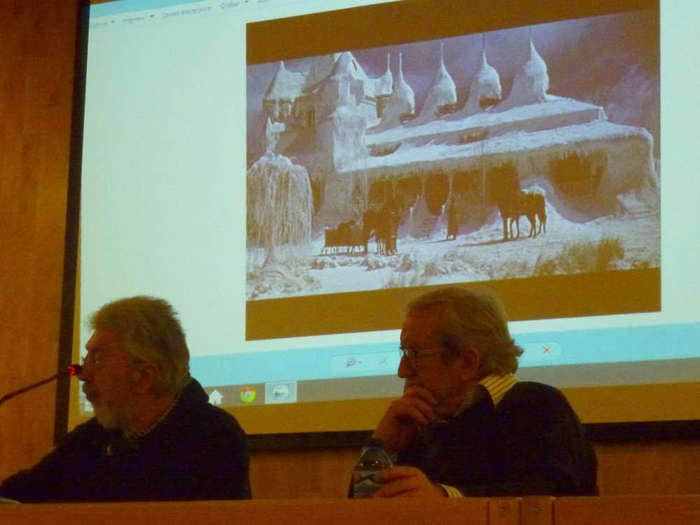 Julian de la Llana y Jesus Barez en Clausura Zhivago en Soria