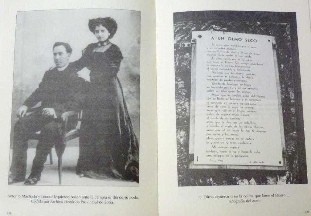 Machado y Leonor casados y El Olmo Seco