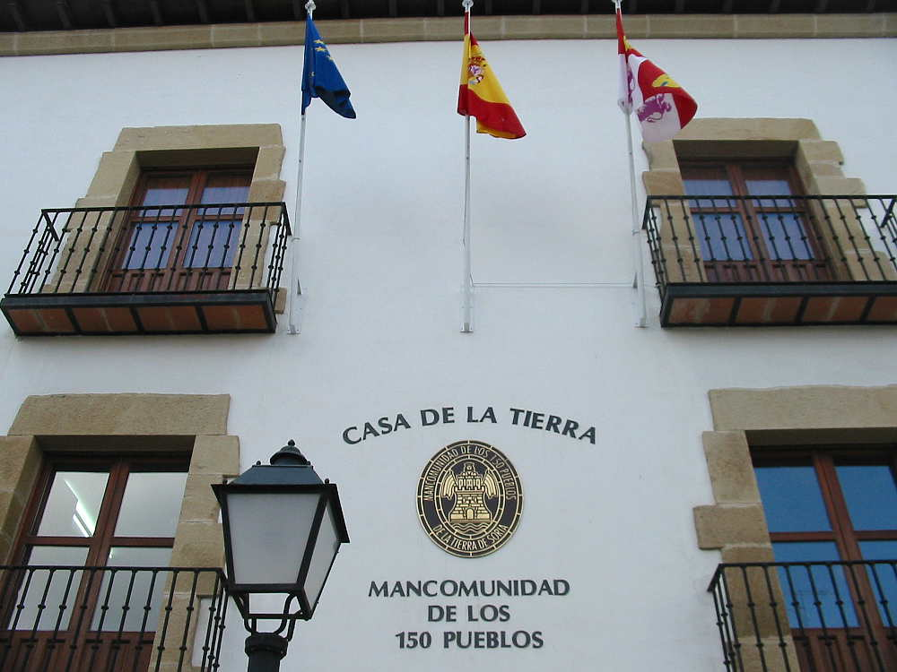 Sede Mancomunidad 150 Pueblos de Soria_fachada