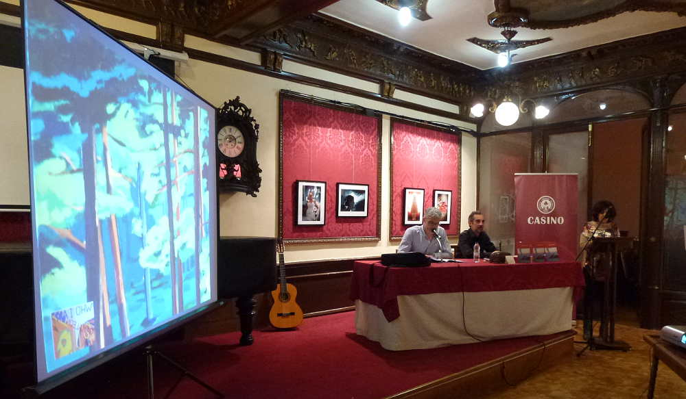 Acto en Salon Gerardo Diego Casino de Soria