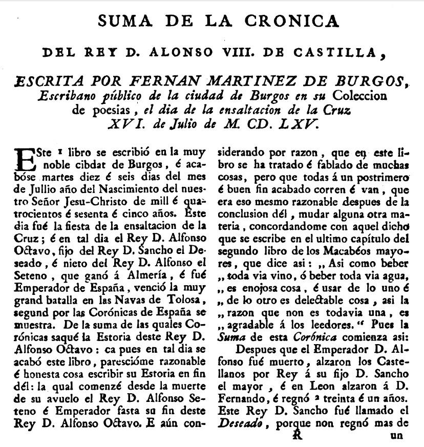 Alfonso VIII rey salvado en Soria por el de Fuentearmegil 1