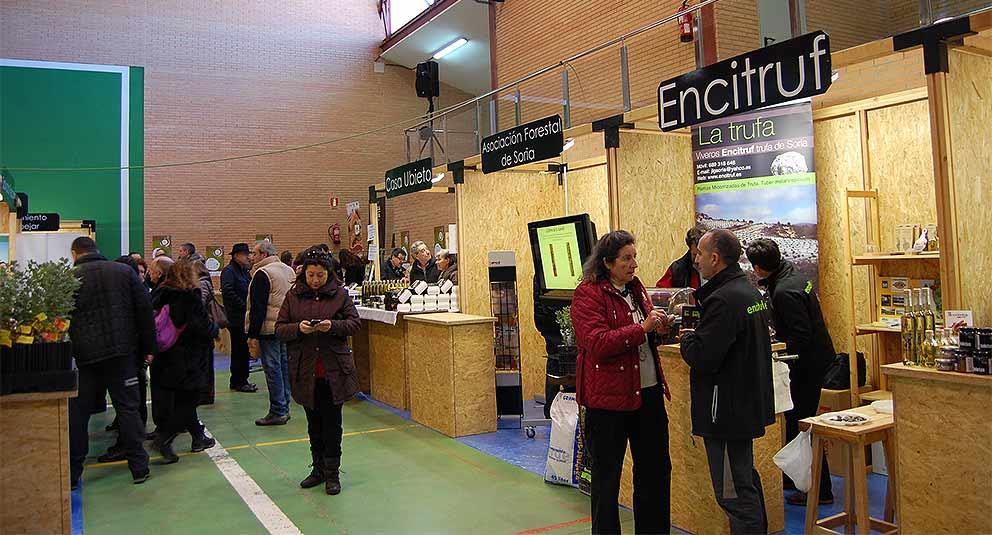 Feria-de-la-Trufa-de-Soria-2016,-puestos-truferos