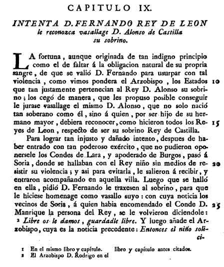 Infante Alfonso VIII en Soria por el Marques de Mondejar 1