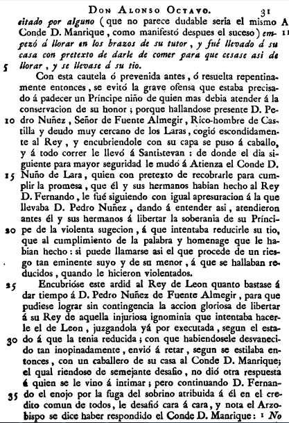 Infante Alfonso VIII en Soria por el Marques de Mondejar 2