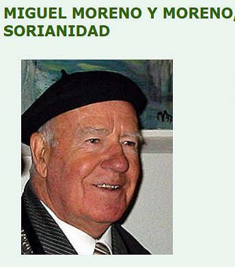Miguel Moreno y Moreno, Cronista de Soria