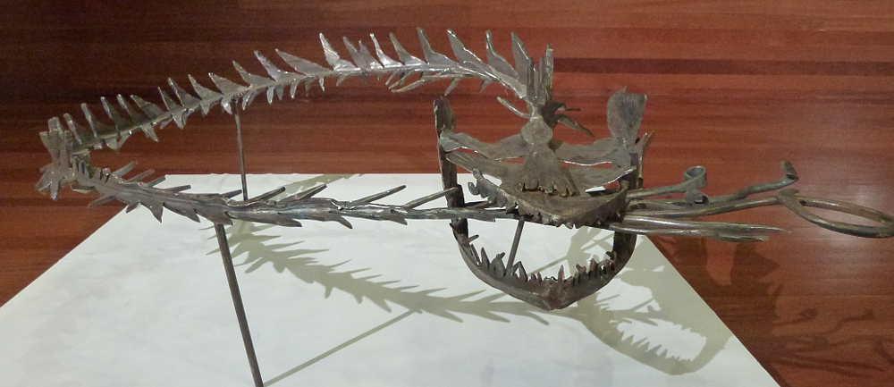Pescadilla Ouroboros de Isidoro Saenz