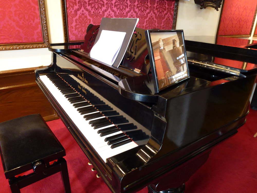 Piano de Gerardo Diego en Casino de Soria