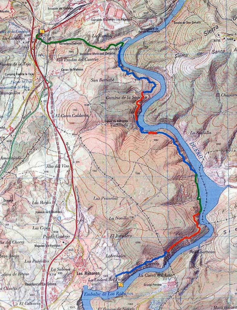 Tramos-Senda-del-Duero-desde-rio-Golmayo-a-Los-Rabanos-en-Soria